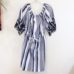 Style House Plus Size Stripped Dress